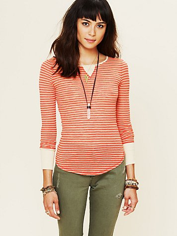 Burnout Stripe Longsleeve Layer