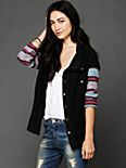 Baja Stripe Sleeve Jacket