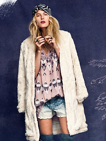 Free People Fairytale in Corduroy Coat