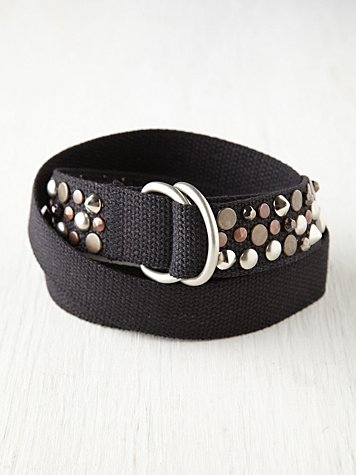Free People Studded Salt Lake Belt