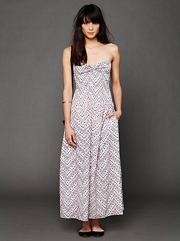 Mara Hoffman Smocked Maxi Dress