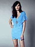Spanish Lace Poncho Dress