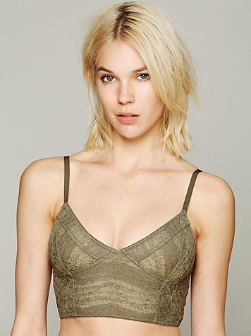 Intimately Lace Crop Bra