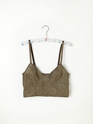 Lace Crop Bra