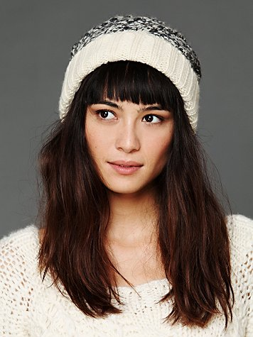 Free People Cable Spacedye Beanie