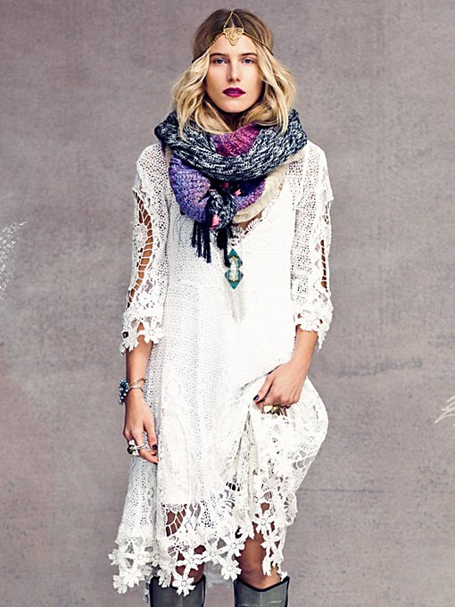 Free People Mi Amore Lace Dress in lace-dresses