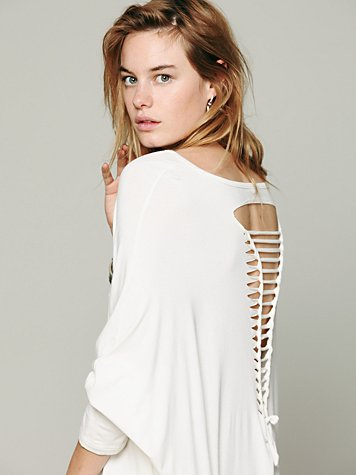 Gypsy Junkies Axel Caplet Boxy Long Sleeve Tee