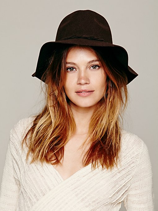 Free People Clipperton Fedora in Hats