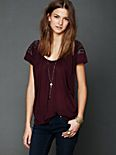 Embellished Shoulder Tee