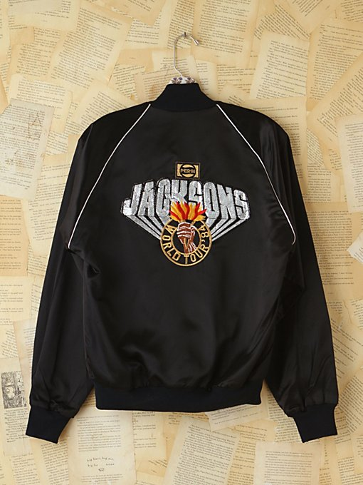 Vintage 1984 Jacksons Concert Jacket in vintage-loves-clothes