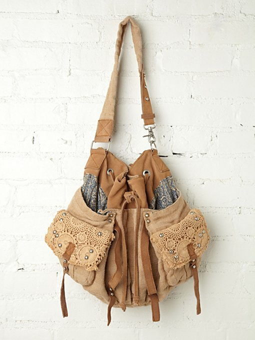 Free People Mason Slouchy Tote in tote-bags