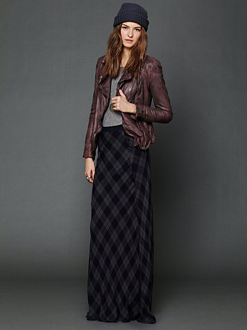 Rails Cameron Plaid Maxi Skirt