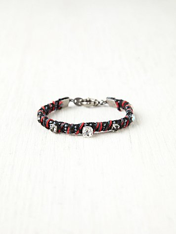 Rhinestone Studded Friendship Bracelet