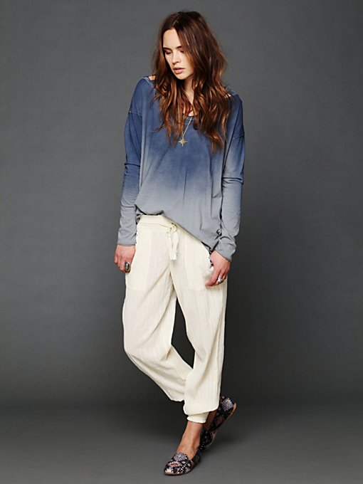 Intimately Striped Smocked Pant in Loungewear