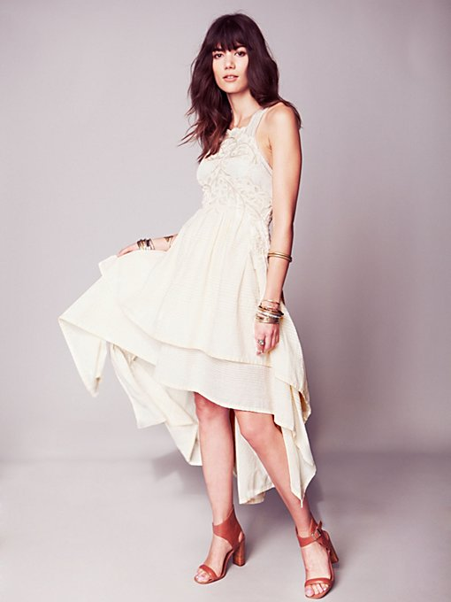 Free People FP New Romantics Swept Away Limited Edition Dress in lace-dresses