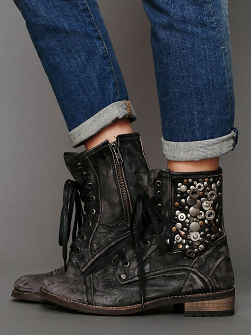 Feud Kadence Military Boot in Boots