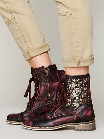 Feud Kadence Military Boot