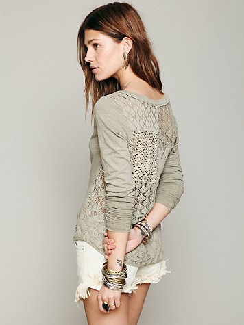Patches Of Lace Henley