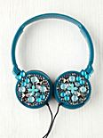Large Studded Earphones