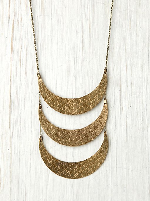 Lune Breastplate Necklace