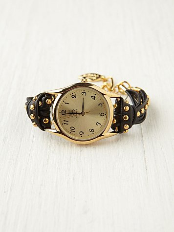 Studded Watch Bracelet