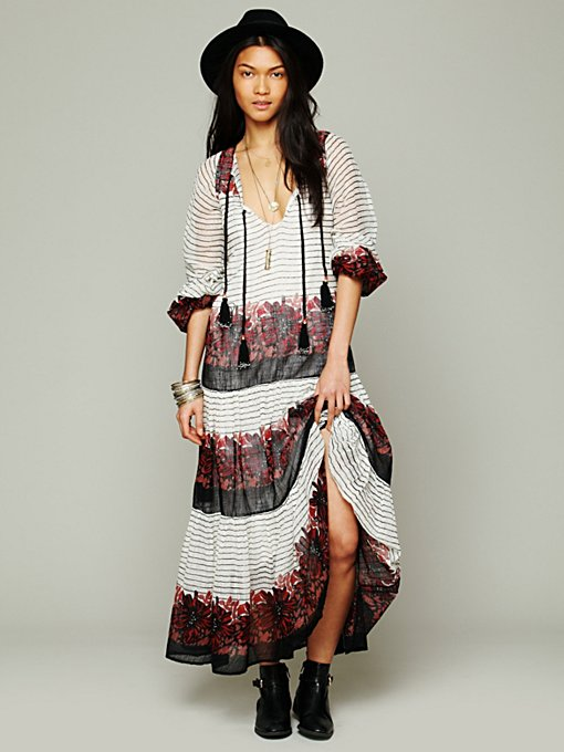 Mes Demoiselles Paris Solene Maxi Dress in Floral-Dresses