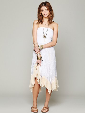 Free People Lace Convertible Slip