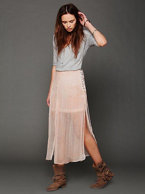 FP New Romantics Oldie But A Goodie Skirt in maxi-skirts