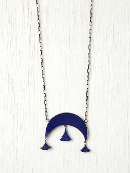 Jane Diaz Moonrise Pendant in bohemian-necklaces