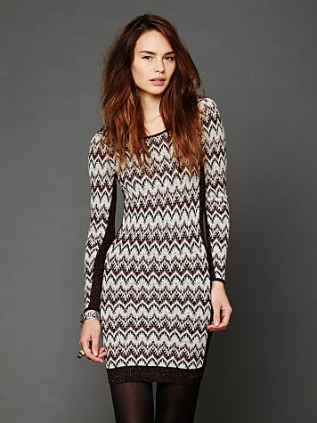 Free People Cozy Cabin Swit Dress
