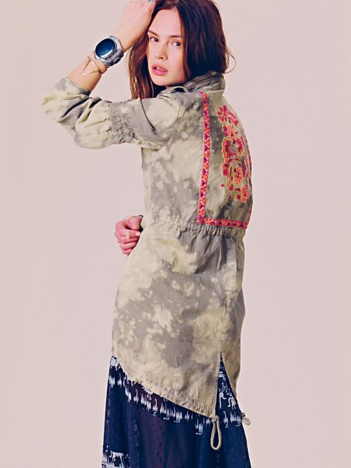 Embroidered Parka in jackets-2