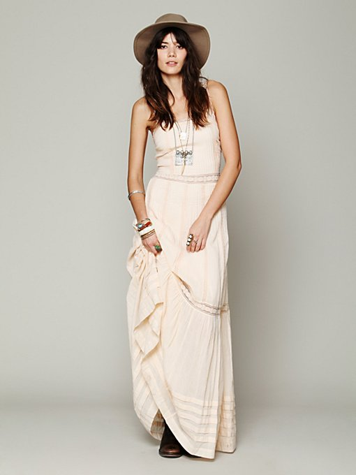 Ami Pieced Lace Maxi