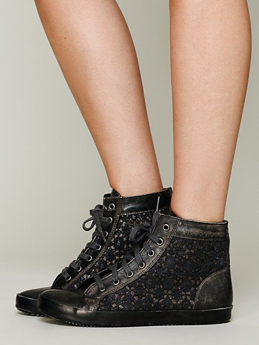 Free People Atlas Crochet Sneaker in Sneakers