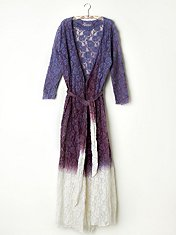 FP ONE Dip Dye Lace Robe in Intimates-slips-bed-jackets-robes-nighties