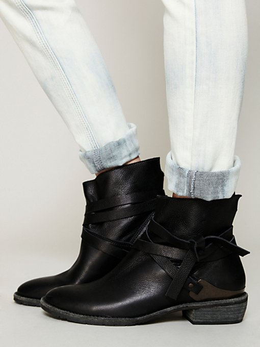 Matisse Blazer Wrap Ankle Boot in Boots