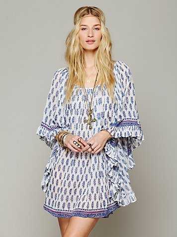 Lotta Stensson Doily Butterfly Dress