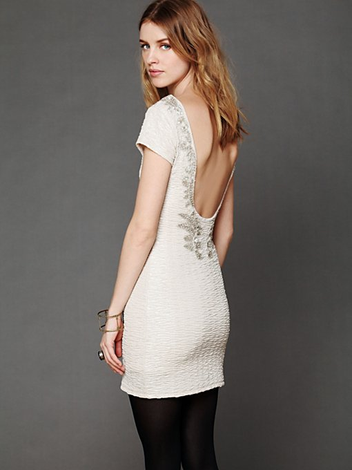 Free People Bringing Sexy Back Holiday Dress in Bodycon-Dresses