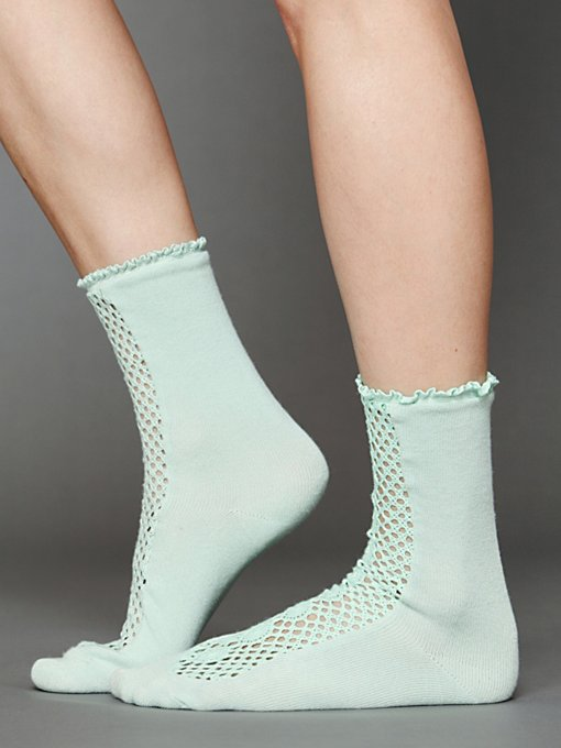 Daisy Lane Ankle Sock in accessories-socks-legwear
