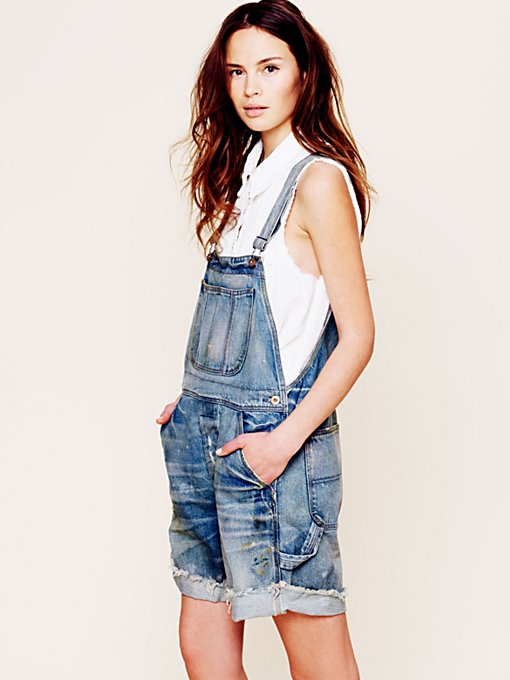 Boyfriend Shortall in denim