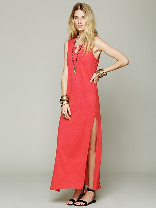 We The Free  Straight Column Maxi in beach-clothes