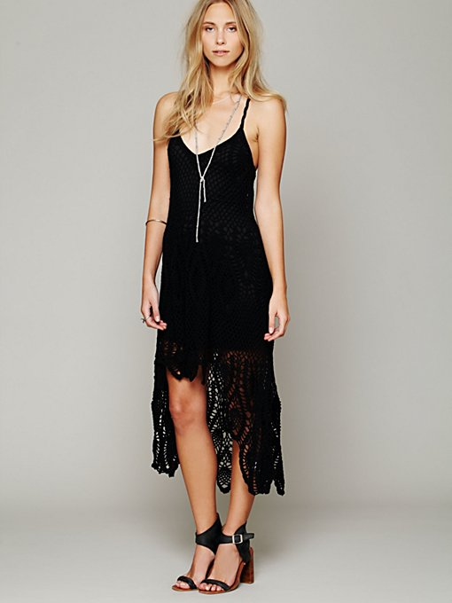 Free People Bella Donna Dress in black-maxi-dresses