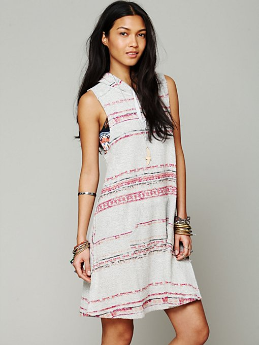 Printed Hooded Tank Dress in whats-new-shop-by-girl