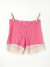 Stretch Lace Bike Short in fp-body