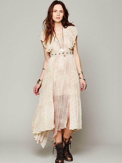 Free People FP New Romantics He Loves Me Best Dress in white-maxi-dresses
