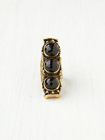 Natalie B. 3 Stone Saddle Ring