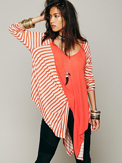 Caulfield Stripe Long Sleeve Top in clothes-fp-exclusives-tops-sweaters