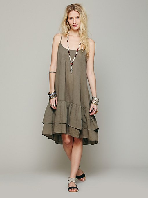 Free People Natural Habitat Dress in beach-clothes