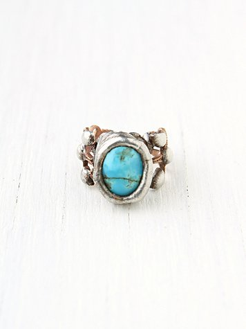 Filagree Stone Ring