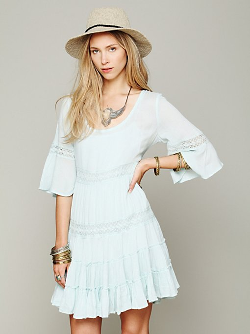 Free People Daisy Lace Dress in Floral-Dresses