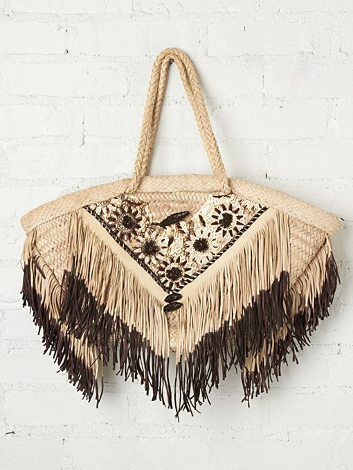 Daisies Beach Bag in accessories-bags-shop-by-shape
